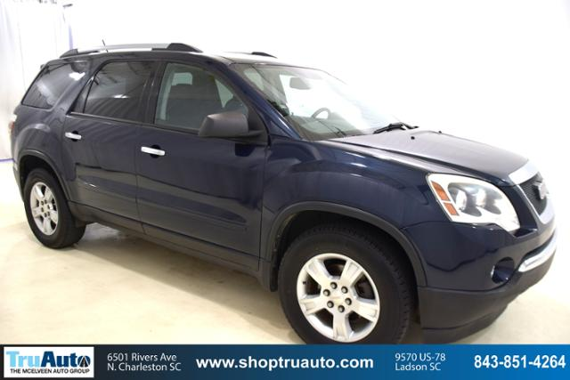 Pre-Owned 2012 GMC Acadia FWD 4dr SLE