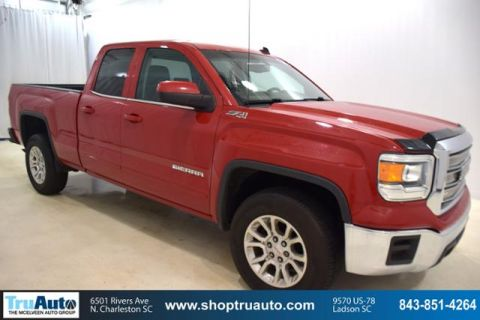 Pre-Owned 2014 GMC Sierra 1500 4WD Double Cab 143.5 SLE